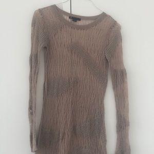 Armani Exchange Sheer Sweater